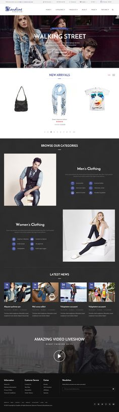 113 Best OpenCart Responsive Themes images in 2019 | Design web