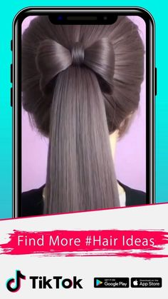 tiktok peinados Find and share exciting videos on - graduation Little Girl Hairstyles, Braided Hairstyles, Cool Hairstyles, Creative Hairstyles, Hairstyles Videos, Hair Upstyles, Toddler Hair, Hair Videos, Hair Hacks