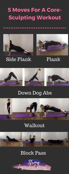 A strong core is essential for staying in shape and feeling your best. Try incorporating these moves into your workouts.
