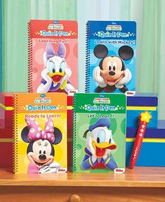Disney Quiz It! 4 Books and Electronic Pen Set