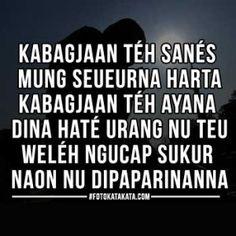 Kata Bijak Bahasa Sunda Kahirupan