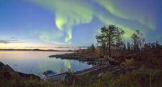 Northern Lights, Aurora Borealis, Finnish Lapland,