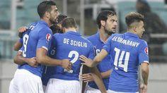 Italien vinder i Aserbajdsjan og klar til EM i Frankrig!