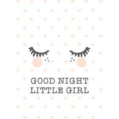 Affiche Good night (A3)
