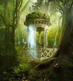 magischer Pavillion