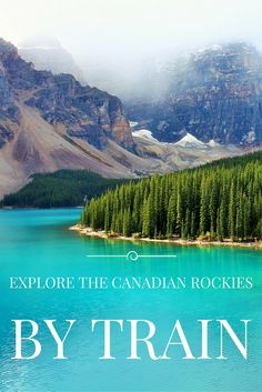 When considering a trip experiencing the Canadian Rockies by train, there are lots of possible journey's, but only one possible response: Wow. Click through to read post.