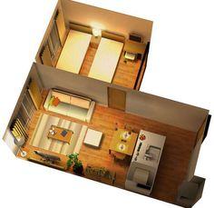 暖色系でまとめた落ち着いた雰囲気のリビングダイニング | インテリアコーディネート | 家具インテリアSTYLICS|レンタルもできるコーディネートショップ