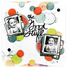The good stuff Mixed Media Scrapbooking, Kids Scrapbook, Scrapbooking Layouts, Scrapbook Pages, Digital Scrapbooking, Icon 5, Candy Cards, American Crafts, Scrapbooks