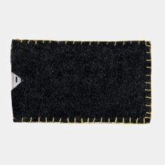 Kit felt Iphone cover 8,5x16cm grey/lime