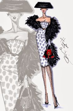 Hayden Williams Fashion Illustrations: 'Who's That Lady?' by Hayden Williams