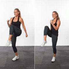 Cardio Burst: High Knees - The Short-Shorts Workout Routine - Shape Magazine