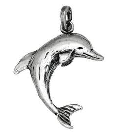 Charm delfino in argento per bracciale base by Giovanni Raspini
