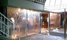 Etched Window Film