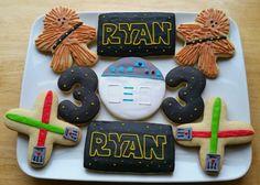 Star Wars Sugar Cookies Royal Icing Recipe May the Shwartz Be