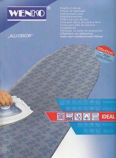 WENKO Ersatzbezug für Ärmel-Bügelbrett Ideal Alu Bügeln Bügelbrett Bügeltuch
