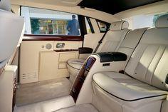 The inside of the 2013 Rolls-Royce Phantom II