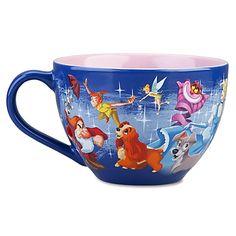 Disney Store 25th Anniversary Disney Characters Mug