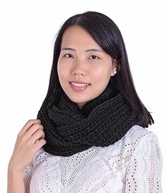Jemis Women' s Super Soft Winter Knit Warm Infinity Scarf x Red wine) Fashion Brands, Fashion Accessories, Christmas Lingerie, Classy Men, Stainless Steel Jewelry, Cable Knit, Perfect Wedding, Infinity, Topshop