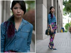 Fatiha Faulzi, Singapore  #streetstyle #streetfashion #fashion #style #photography