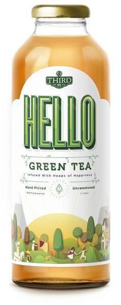 tea bottle packaging - Buscar con Google