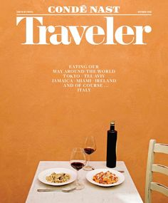 """""""Our October """"Food"""" issue is here! And we're breaking down where in the world you should eat right now: …"""" Print Magazine, Magazine Design, Mimi Thorisson, Travel Magazines, Most Beautiful Beaches, Eat Right, October, Magazine Covers, Layout"""