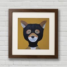 Fancy - Mr. Fox Print by Mission Anderson. I love you Mr. Fox. And you too George Clooney. And you more Wes Anderson.