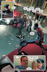 """Marquez Swings with Miles Morales & """"Ultimate Spider-Man"""" - Comic Book Resources"""