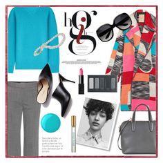 """Rocking that coat"" by eereich ❤ liked on Polyvore featuring Roksanda, STELLA McCARTNEY, Agnona, Valextra, 3.1 Phillip Lim, Damaris, Borghese, NARS Cosmetics, Essie and Miu Miu"