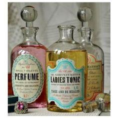 #Apothecary/Perfume bottles