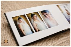 wedding albums contemporary design - Google Search