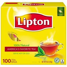 Lipton Tea Bags For a Delicious Beverage Decaffeinated Black Tea Caffeine-Free and Made With Real Tea Leaves 75 Tea Bags Lipton Tea Bags, Bulk Tea, Free Printable Grocery Coupons, Wholesale Coffee, Black Tea Bags, Tea Box, Tea Gifts, Iced Tea, Gourmet Recipes