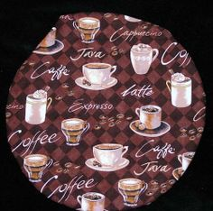 Microwave potato baker bag Coffee Latte Cappuccino Java by Inthecc, $9.00