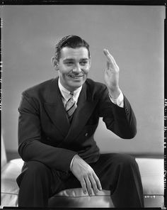 https://flic.kr/p/7JR3nJ | 7000-0386 | Clark Gable camera negatives from Hold Your Man by Clarence Sinclair Bull.