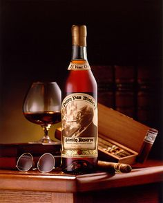 Pappy Van Winkle Family Reserve - Very rare bourbon, sells out almost immediately...I've had the pleasure of having one bottle of this in my life. Worth Every Cent! VH