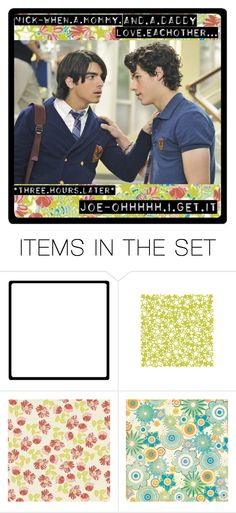 """""""183. JOe want's to know..."""" by lovelikecrazy ❤ liked on Polyvore featuring art and jonas brothers"""
