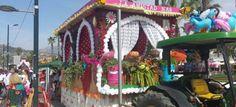 La carroza de 'La Amistad' gana el primer premio del concurso de la Romería del Sur