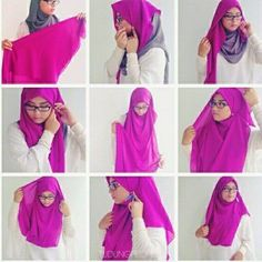 Beautiful Chest Covering Square Hijab Tutorial | My Sweet Escape