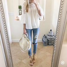 """@kaitlinkkeegan on Instagram: """"Bell sleeves + tassel heels!"""""""