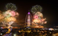 """""""A New Beginning"""" Happy 2016 :) - In Dubai 2015 ended up badly with """"The Address"""" hotel gutted by fire but as it is Dubai they quickly recovered & went ahead with the Fireworks....  Salute to those armed officer & Fire Brigade who tackled it quickly.. Hopefully 2016 will be better..."""