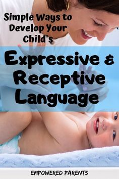 Parents and grandparents will love these strategies and activities for developing kids' expressive and receptive language. Check out these ideas and simple ways help your little ones. Cognitive Activities, Pre Reading Activities, Language Activities, Infant Activities, Language Development, Child Development, Communication Development, Writing Prompts For Kids, Kids Writing
