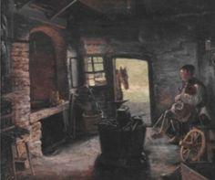 Kovárna v Němčicích  Dvořák Antonín (1817-1881)