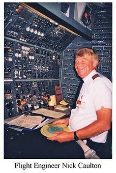 Air New Zealand B747-219 Nick Caulton Flight Engineer