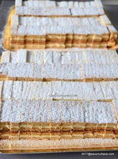 platou prajituri de casa alba ca zapada si dulcineea albinita Romanian Desserts, Romanian Food, Sweets Recipes, Baking Recipes, Cookie Recipes, Focaccia Bread Recipe, Sweet Cooking, Pastry Cake, No Bake Cake
