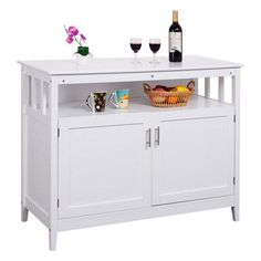 Artisan White Buffet White buffet Buffet and Doors