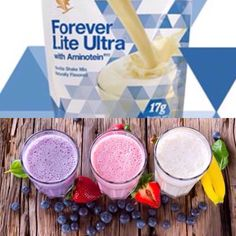 Forever Lite Ultra protein shakes for weightloss are SO versatile - healthy & tasty too! And they are also a key ingredient of ever popular Clean 9 Diet. Aloe Vera Gel Forever, Forever Living Aloe Vera, Forever Aloe, Forever Living Clean 9, Forever Living Business, Healthy Protein Shakes, Protein Shake Recipes, Clean9, Post Workout Food