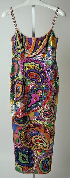 Crazy 'bout this colorful gown...   ~~  Houston Foodlovers Book Club