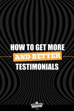 A science backed, psychology trick for getting stellar testimonials