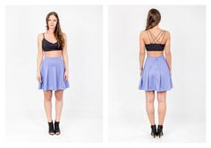 PARADOX SS15 'Details' Collection Black bralet - 12.000HUF Blue skater skirt - 15.000HUF
