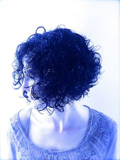 Curly Hair Bob Haircut