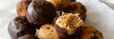 Cookie dough balletjes met kikkererwten
